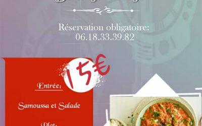Restaurant Éphémère le 17 novembre avec Sémina Métès