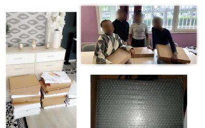 Stains Espoir et la fondation Total impliquées dans le suivi pédagogique des jeunes durant le COVID19